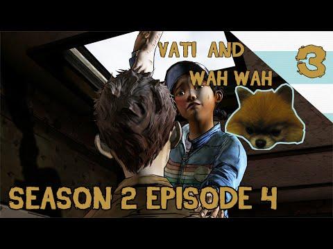 DOG CAM - SARAH OH SARAH. WHERE YOU BE? - The Walking Dead Season 2 - Episode 4 - Part 3