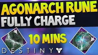 """How to charge Agonarch rune Quickly"" Destiny PS4 Gameplay"