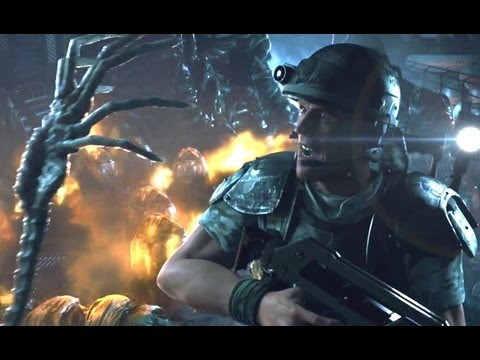 Aliens: Colonial Marines — Контакт. Полный CGI трейлер!