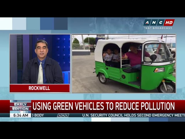 Clean and green: Improving transport services with e-vehicles