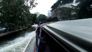 Bangkok river - busy bangkok transportation2