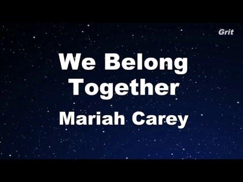Carey, Mariah - We Belong Together