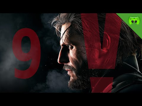 METAL GEAR SOLID 5 # 9 - Roter Stab «» Let's Stream MGS V: The Phantom Pain   HD