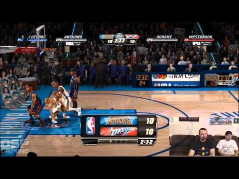 SGC Iron Man of Gaming 2013 Training - NBA Jam (2011) pt1