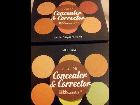 Bhcosmetics 6 Color Concealer & Corrector palette