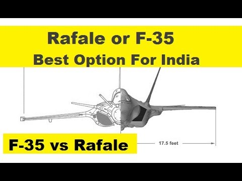 Rafale or F-35, Best Option For India to buy 4.5 or 5th Generation Fighter