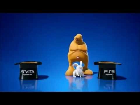 Рекламный ролик кроссплатформенности на PS Vita с юмором