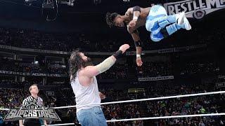 Kofi Kingston vs. Luke Harper: WWE Superstars, February 27, 2015