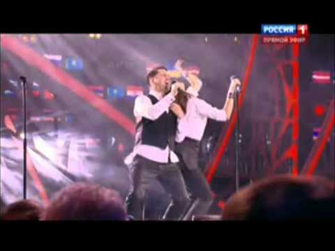 The Pringlez (Украина) и Интарс Бусулис - Ты здесь (Новая волна 2015)