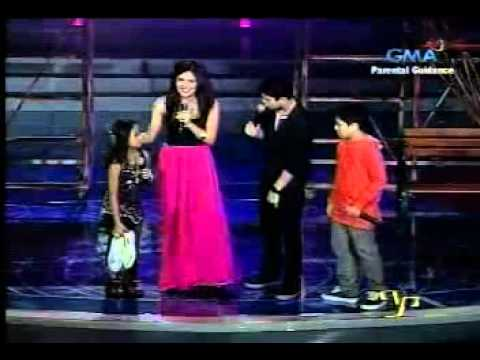 JuliElmo with Leana and Arkin - Falling In Love - PP Ikaw Na - 09.11.2011