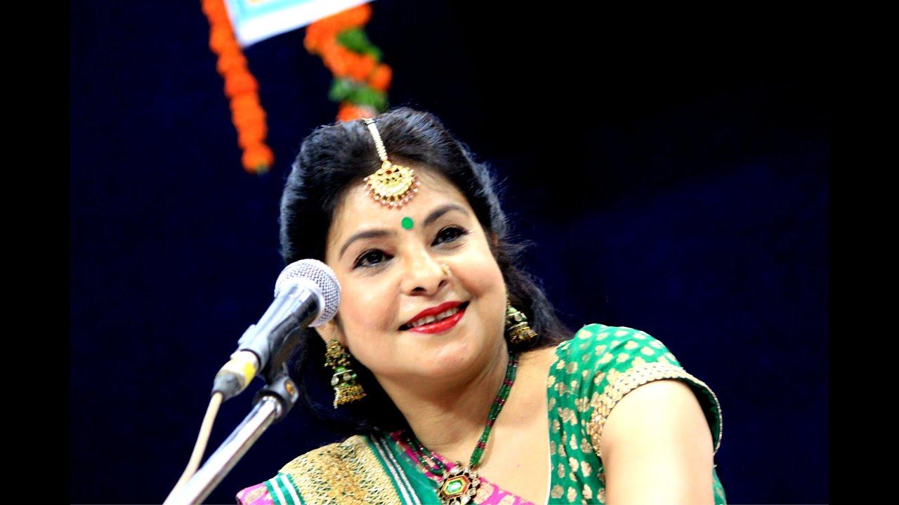 Piya Mehandi liya da moti jheel se kajari by Malini Awasthi - YouTube