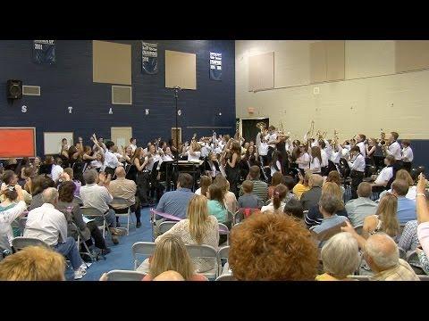 Mauldin Middle School Band -  2014 Spring Concert Sampler