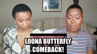 LOONA BUTTERFLY MV REACTION