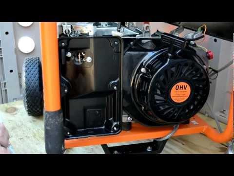 Generac Generator Carb removal and disassembly