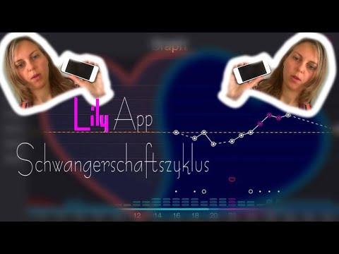 Schwanger werden mit der Lily App -  mein Testbericht