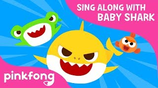Trio of the Ocean | Sing Along with Baby Shark | Pinkfong Songs for Children