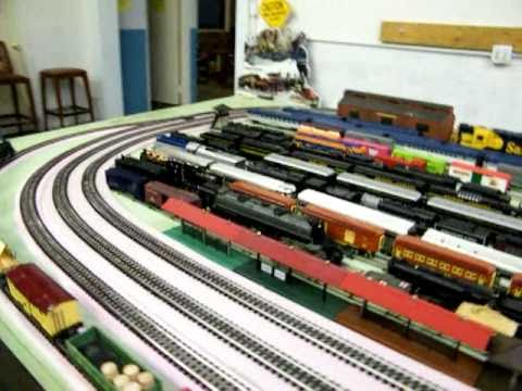 Large (O Gauge) Model Railroad Layout Walk About at WRMRRM