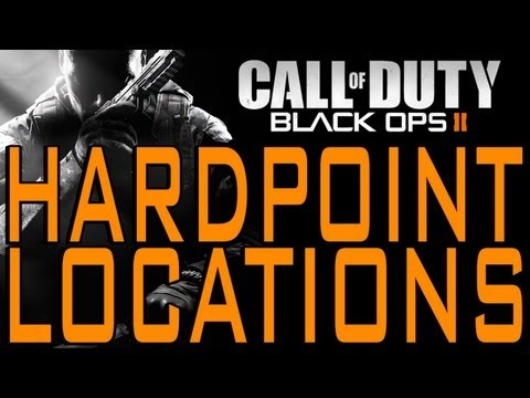 Black Ops 2 - Fixed Hardpoint Locations and Order (Call of Duty BO2 Hard Point Tips and Tricks)