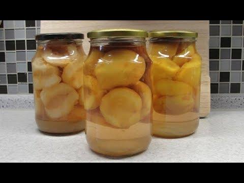 Персики в сладком сиропе на зиму