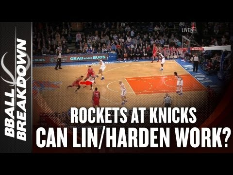 Rockets at Knicks: Can McHale Make Lin & Harden Work?