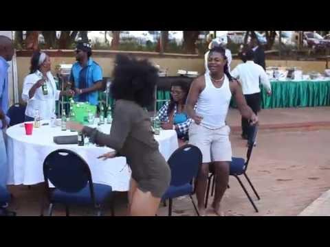 Ammara Brown dancing to Jah Prayzah
