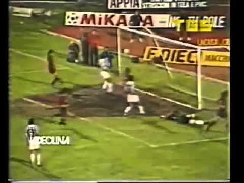 Cagliari - Juventus 1-1 - Coppa Italia 1986-87 - quarti di finale - andata