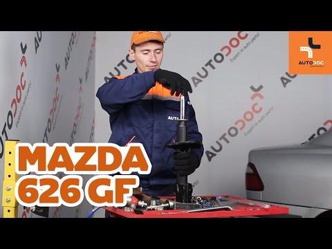 Como trocar amortecedores traseiros Mazda 626 GF TUTORIAL   AUTODOC