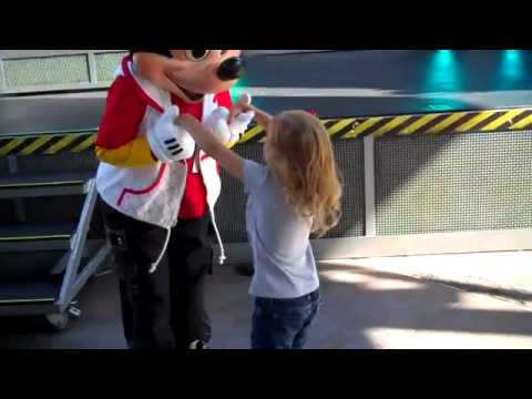 Lily Dancing with Mickey