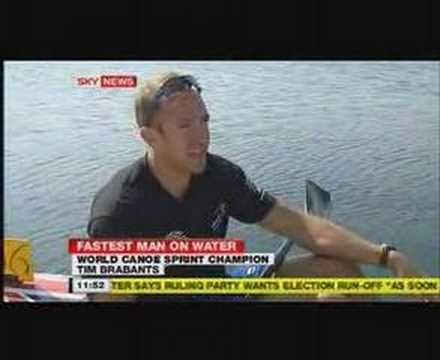 Tim Brabants on News channel feature One