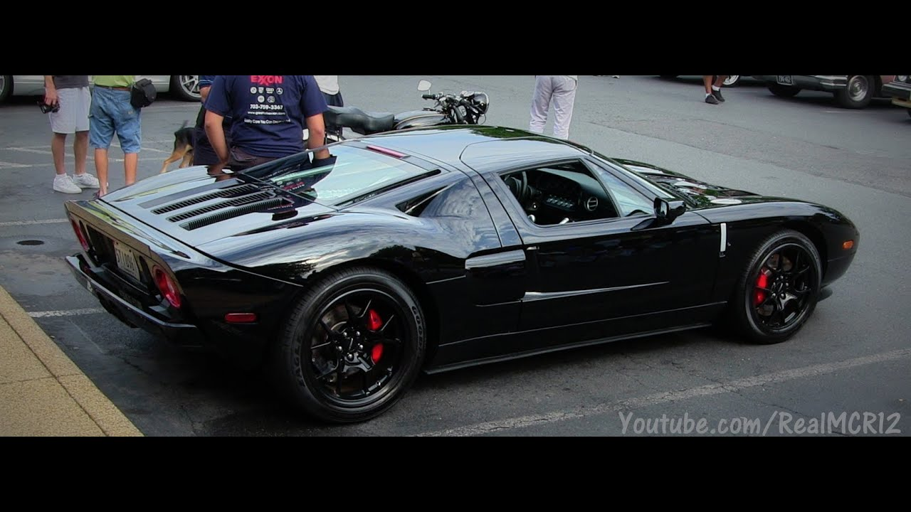 Blacked Out Ford GT!! - YouTube