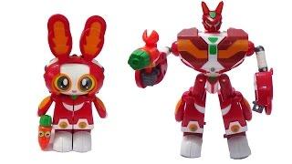 Robot siêu nhân biến hình Thỏ Vui Vẻ - Robot Tia Chớp