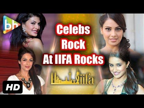 Sonakshi Sinha, Jacqueline Fernandez, Malaika Arora Khan Sizzle At 'IIFA Rocks'
