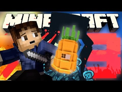 NAMING PINEAPPLES! (Minecraft Mod Let's Play: Attack of the B Team with Woofless) - Episode 3