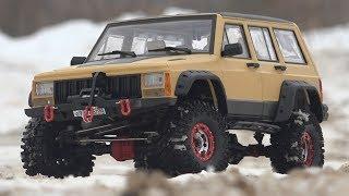 Ставлю КИТАЙСКИЙ кузов на АМЕРИКАНСКУЮ машину (rc car Axial SCX10 2 Jeep Cherokee XJ)
