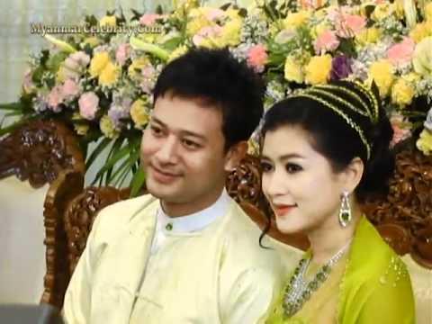 Pyay Ti Oo + Eaindra Kyaw Zin Wedding Ceremony @ Maha Si Monastery