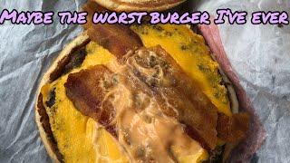 Burger King's BK Single Stacker Might be the Worst Burger