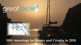 Sailing in Greece - Sailing Greatcircle Overview 2018 - Part 1
