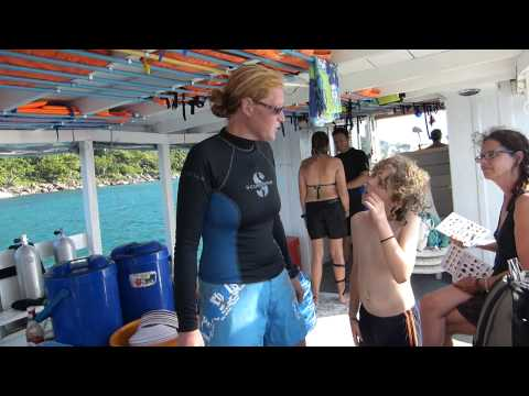Ali Goddess Marine Biology Teacher for Kids  Koh Rong Dive Center, Cambodia