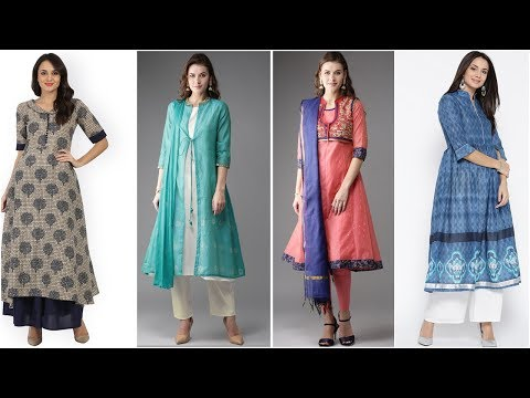 Stylish and Beautiful Long Kurta / Kurti Designs