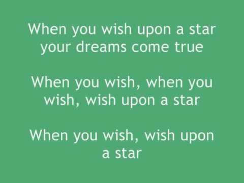 Meaghan Jette Martin- When You Wish Upon A Star [WITH LYRICS] Video