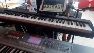 SAMPLES IPAD VS KORG M3  TUTORIAL COMO CONECTAR TU IPAD
