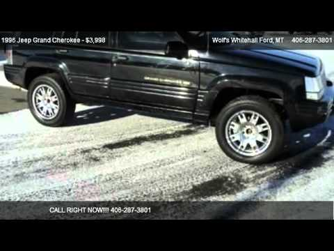 1996 Jeep Grand Cherokee Limited - for sale in Whitehall, MT 59759