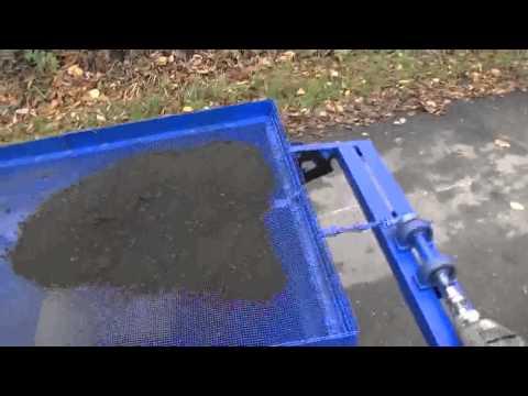 Вибросито для песка своими руками видео