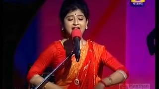Moribo Moribo Sokhi | Aditi Munshi |  Kirtan | Birthday Cafe (DD Bangla)