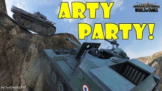 World of Tanks - Funny Moments | ARTY PARTY! #34