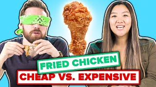 We Guess Cheap Vs. Expensive Fried Chicken
