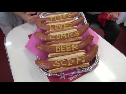 Pink's Hot Dogs Interview | Comics, Beer & Sci-fi