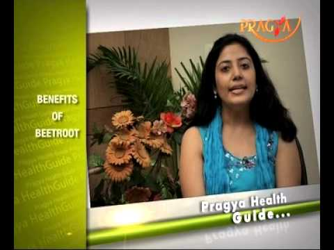 Benefits of Beetroot- Dr. Deepika Malik-Dietician- Health quotes on Pragya TV