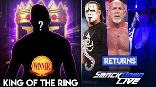 WWE SmackDown Live 24th Sept Highlights Sting Returns To The Ring Confronts The Undertaker 2019