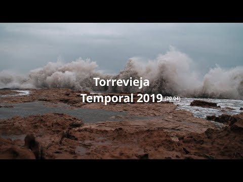 Torrevieja, Temporal 2019